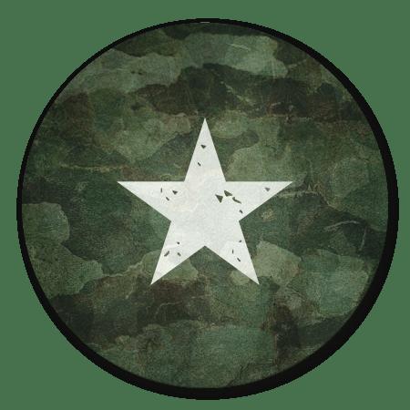 Army met ster