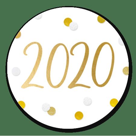 2020 - confetti