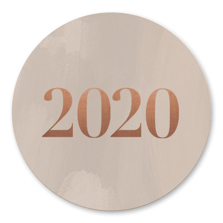 Beige 2020 waterverf