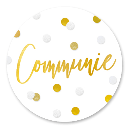 Communie confetti