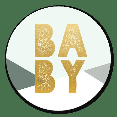 Babyshower vlakken jongen