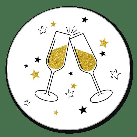 Champagne en Sterren