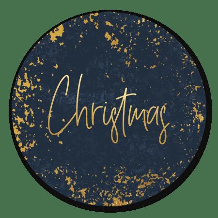 Kerst gouden structuur en Christmas