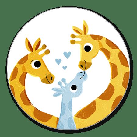 Geboorte Giraffes Jongen