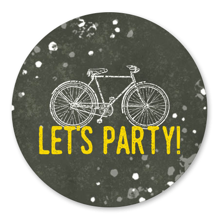 Fiets en Let's Party