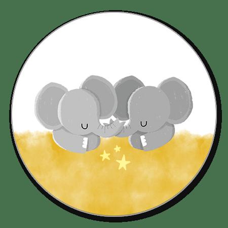 Geboorte Olifantjes tweeling