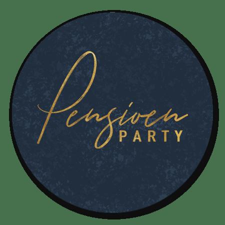 Pensioen Party Blauw
