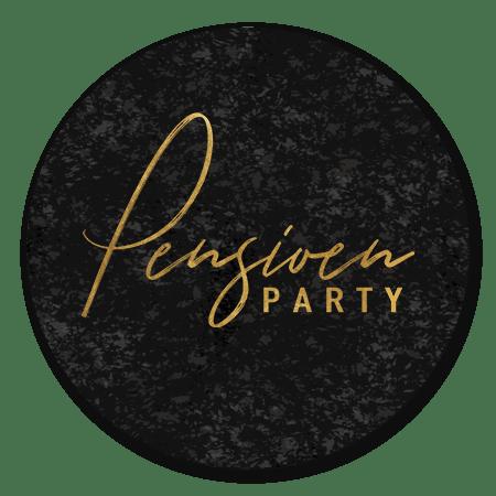Pensioen Party Zwart