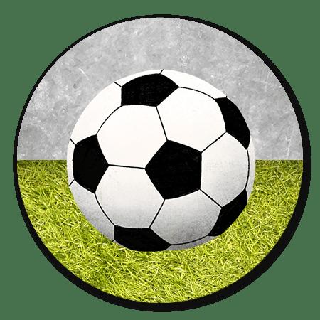 Voetbal met Gras en Beton