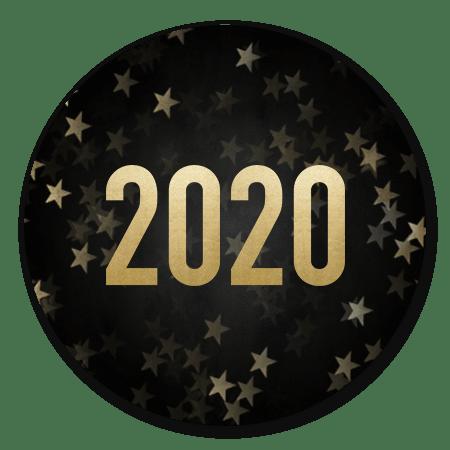 Sterren en gouden 2020