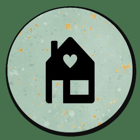 Zwart Huisje Verhuisd