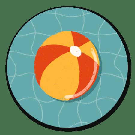 Zwemfeestje bal