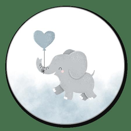 Olifantje ballon jongen