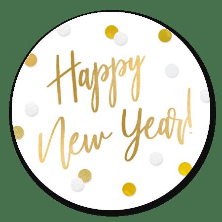 Happy New Year - Confetti