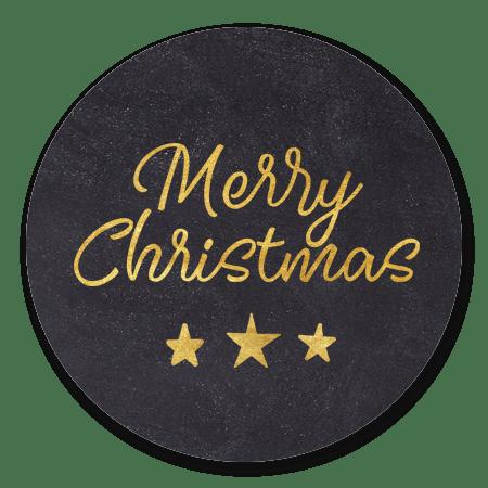 Krijtbord merry christmas