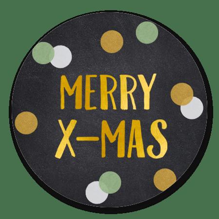 Confetti kerstmis