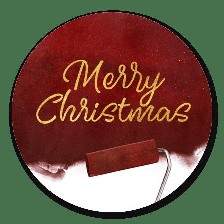 Schilder - merry christmas