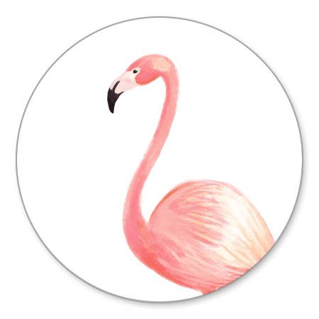 Sluitzegel flamingo