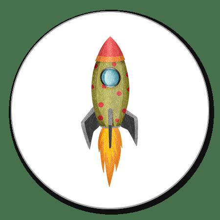 Sluitzegel raket