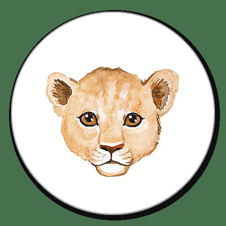 Sluitzegel leeuw