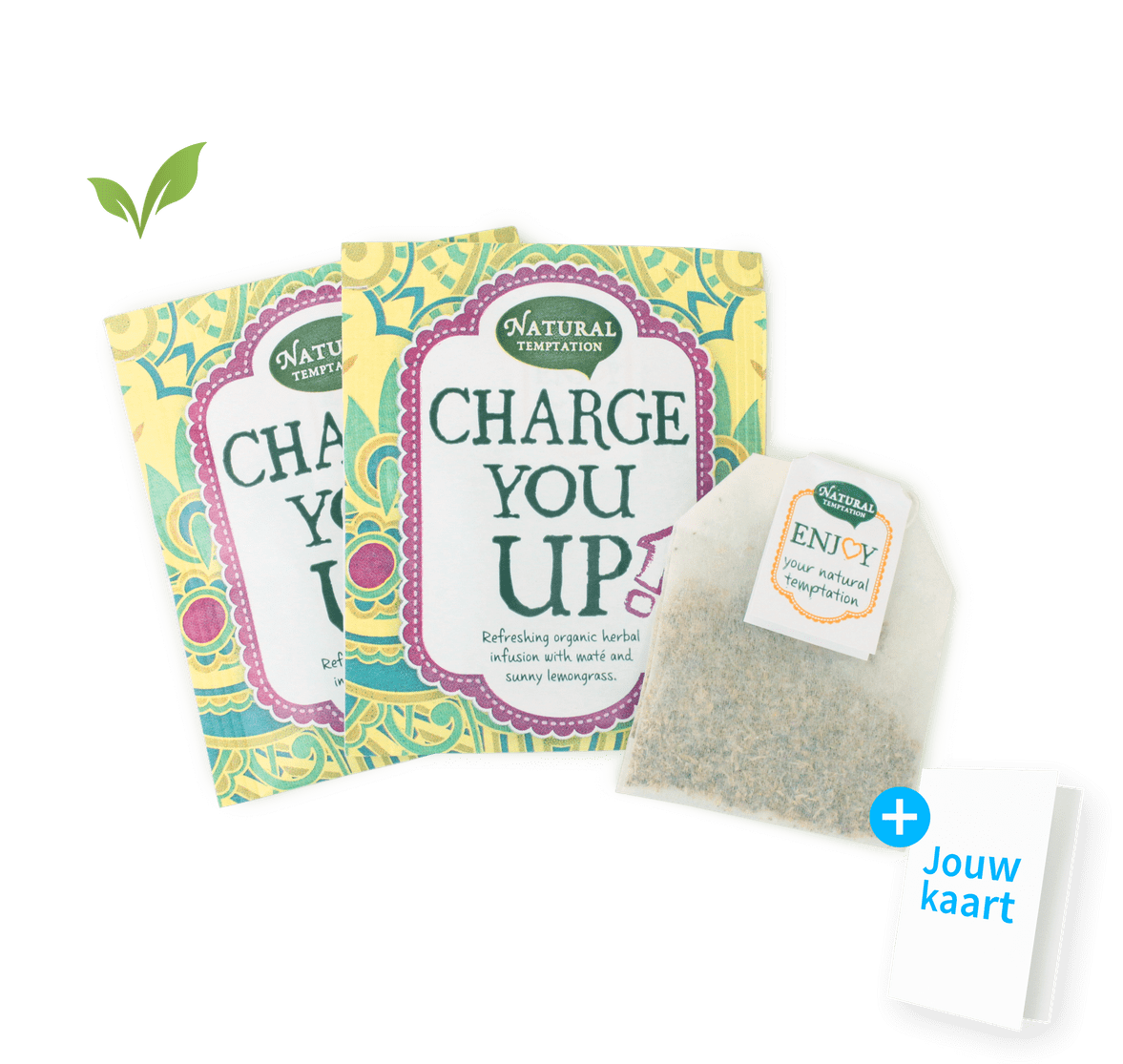 Charge You Up thee 2 zakjes