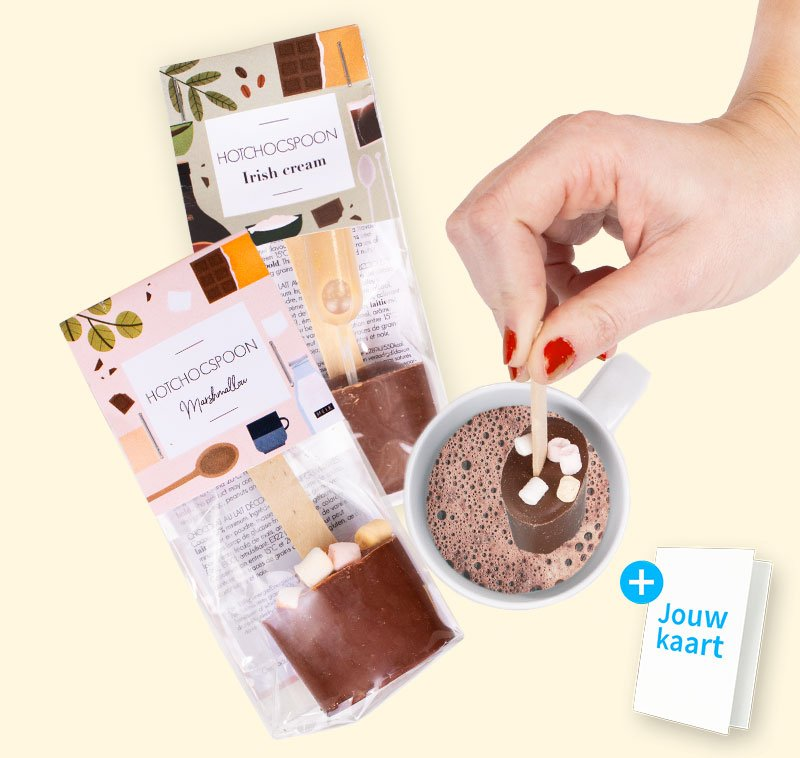 Chocolate spoon giftpack