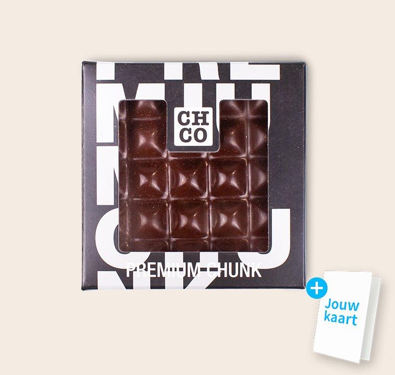 Chocolade chunk puur