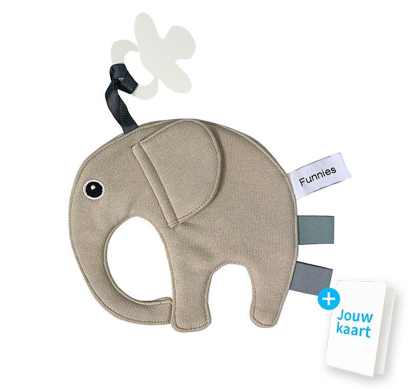 Speendoek olifant cream