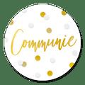 Sluitzegel communie confetti