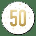 Sluitzegel uitnodiging 50 jaar goud