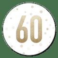 Sluitsticker uitnodiging 60 jaar goud