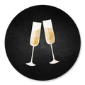 Sluitzegel champagne krijtbord