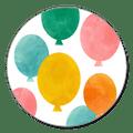Sluitzegel ballonnen