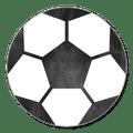 Sluitsticker voetbal