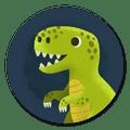 Sluitzegel dinosaurus