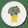 sluitsticker plant