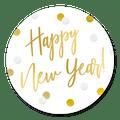 sluitsticker happy new year confetti