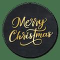sluitsticker merry christmas sierlijk