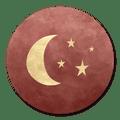 sluitzegel maan roze