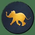 sluitzegel olifant goud