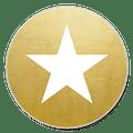 sluitzegel ster goud