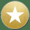 Sluitzegel gouden ster
