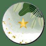Jungle met goudlook ster