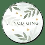 Uitnodiging botanisch met waterverf