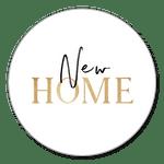 New Home auf Weiß