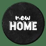 New Home in Schwarzweiß