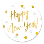 Happy New Year Konfetti