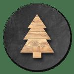Holzbäumchen
