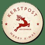 Kerstpost stempel