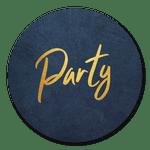 Party blau-gold